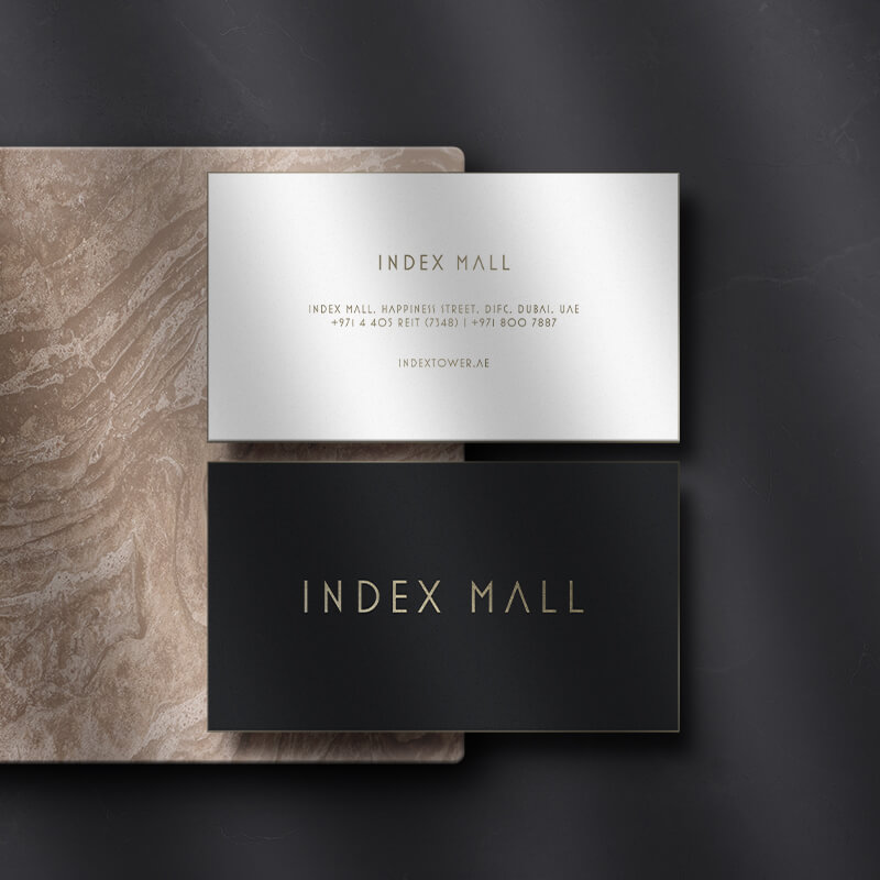 Index Mall Business Cards